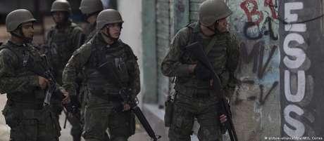 A intervenção federal na segurança pública do Rio vigorou entre meados de fevereiro e dezembro de 2018