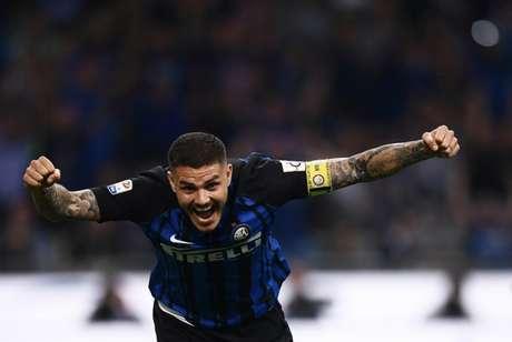 Icardi é o grande destaque da Internazionale nesta temporada (Foto: AFP)