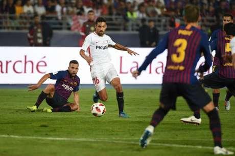 Times disputaram a Supercopa da Espanha nesta temporada (Foto: AFP)