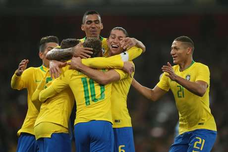 Brasil já está de olho na Copa América (Foto: Lucas Figueiredo/CBF)