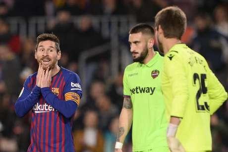Messi marcou um dos gols da vitória desta quinta (Foto: Josep Lago/AFP)