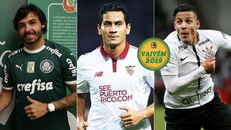 Ricardo Goulart, Paulo Henrique Ganso e Guilherme Arana (Foto: Divulgação)