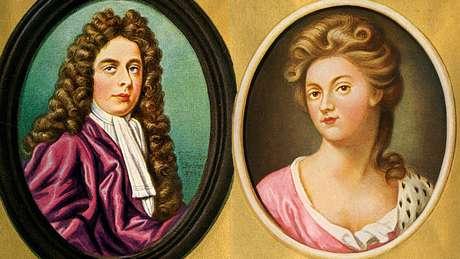 O duque e a duquesa de Marlborough ostentavam enorme poder