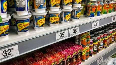 Supermercado argentino; país enfrenta inflação mais alta dos últimos 27 anos