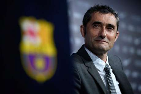 Valverde indicou que pode entrar com time mesclado contra o Leganés (Foto: Lluis Gene / AFP)