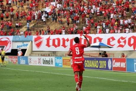 Rafael Silva foi o autor do único gol do jogo deste sábado (Douglas Monteiro/Vila Nova)