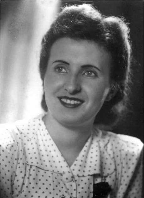 Alma Adler, idealizadora da boneca Estrela; família foi auxiliada pelo advogado José Mindlin para conseguir trazer todos os integrantes para o Brasil