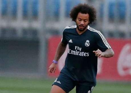 Marcelo não vive seu melhor momento com a camisa do Real Madrid (Foto:Divulgação/Instagram)