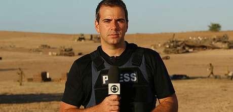 O jornalista cobriu conflitos no Oriente Médico e atentados terroristas