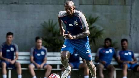 Cléber ainda tem esperança de ser inscrito por Sampaoli no Campeonato Paulista(Foto: Ivan Storti/Santos)