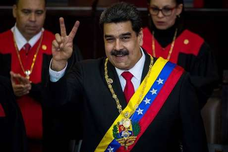 Nicolás Maduro tomou posse para segundo mandato em janeiro
