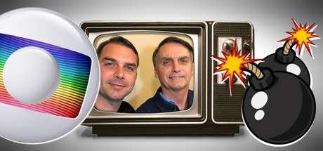 A família Bolsonaro reclama da cobertura negativa de parte da imprensa