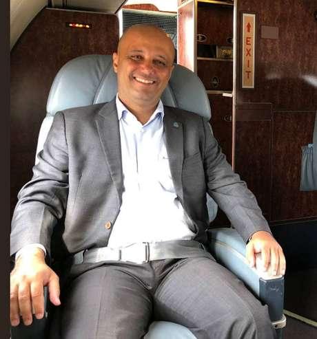 O deputado federal eleito Major Vitor Hugo (PSL-GO)