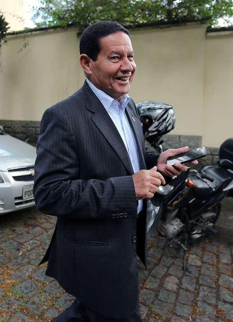 Presidente em exercício, Hamilton Mourão 30/10/2108 REUTERS/Sergio Moraes