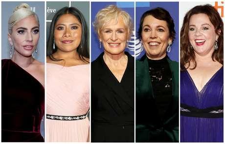 Lady Gaga, Yalitza Aparicio, Glenn Close, Olivia Colman e Melissa McCarthy: quem ficará com estatueta de melhor atriz?