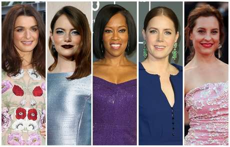 Rachel Weisz, Emma Stone, Regina King, Amy Adams e Marina de Tavira disputam prêmio de atriz coadjuvante