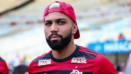 Gabigol foi apresentado à Nação no último domingo, no Maracanã (Foto: Andre Melo Andrade/AM Press/Lancepress!