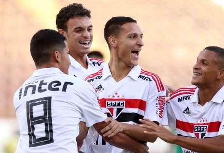 Antony é o destaque do São Paulo na Copinha: três gols e cinco assistências - FOTO: Celio Messias/saopaulofc.net