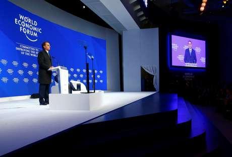 Jair Bolsonaro discursou no Fórum Econômico Mundial em Davos