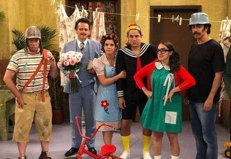 'Tá no Ar' fez paródia sobre o humorístico mexicano 'Chaves', de Roberto Gomes Bolaños.