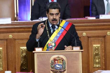 Presidente da Venezuela, Nicolas Maduro. 14/01/2019. Miraflores Palace/Reuters