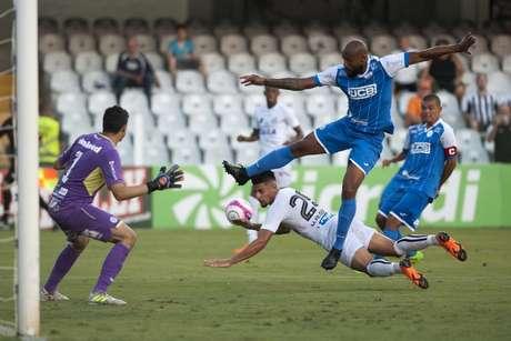 No último confronto, em 2018, São Bento venceu o Santos por 3 a 1, na Vila Belmiro(Foto: Ivan Storti/Santos)