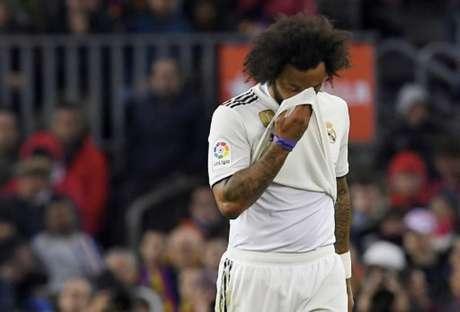 A imprensa espanhola chegou até cogitar que Marcelo estaria acima do peso (Foto: Lluis Gene / AFP)