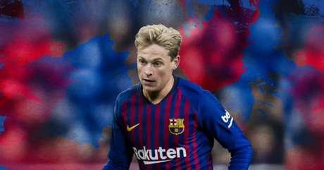 Barcelona anunciou De Jong (Foto: Reprodução)