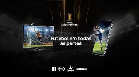 Direitos de transmissão da Libertadores foram divulgados nesta quarta-feira (Foto: Reprodução)
