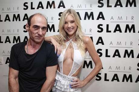 Amir Slama e Gianne Albertoni (Foto: Divulgação)