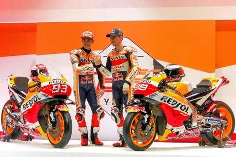 Repsol Honda apresenta a pintura para 2019, sua 25ª temporada na MotoGP