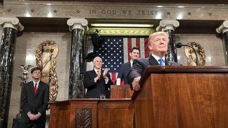 Neste ano, o discurso está marcado para 29 de janeiro, mas corre o risco de não acontecer por causa da paralisação parcial do governo