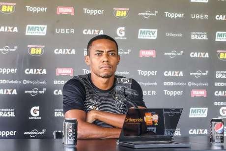 Elias tem contrato com o clube mineiro até 2020, mas ainda não foi procurado para uma renovação- (Foto: Bruno Cantini / Atlético-MG)