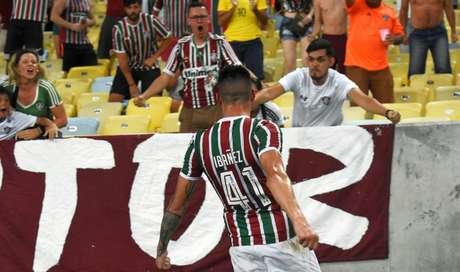 Ibañez foi o autor do gol de empate do Fluminense na estreia (Foto: MAILSON SANTANA/FLUMINENSE FC)