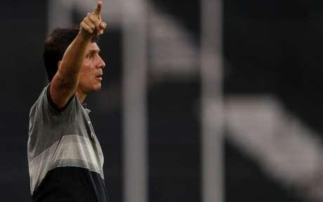 Zé Ricardo, durante o empate sem gols com o Bangu (Foto: Vitor Silva/SSPress/Botafogo)
