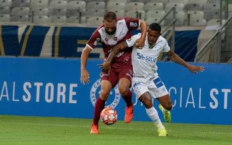 A Raposa é líder do Mineiro ao lado o Tupynambás, mas perde para o clube do interior- Alessandra Torres/Eleven
