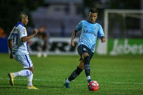 Grêmio permitiu o empate do Aimoré no Gapucho (Foto: Lucas Uebel/Grêmio FBPA)