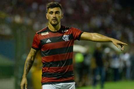 Arrascaeta estreou e participou do lance do gol de Henrique Dourado (Foto: Alexandre Vidal / Flamengo)