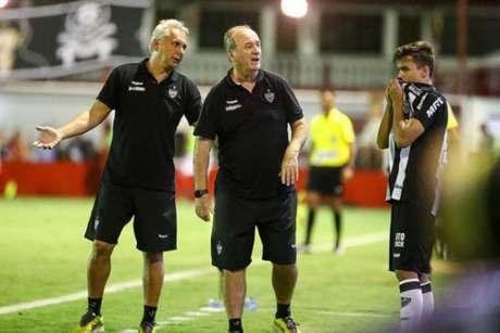 Levir poupou seus principais jogadores para que o grupo melhorasse a parte física no seguimento da pré-temporada- Bruno Cantini/Atlético-MG