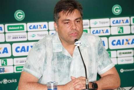 Presidente acaba com possibilidade de saída de Michael(Foto: Divulgação/Goiás)