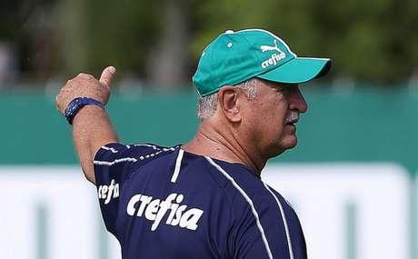Felipão manterá o rodízio, levando o aspecto físico em conta para escalar a equipe (Agência Palmeiras/Divulgação)