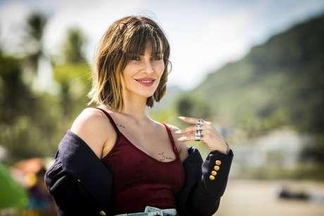 Cleocomo a personagem Betina em 'O Tempo Não Para'.