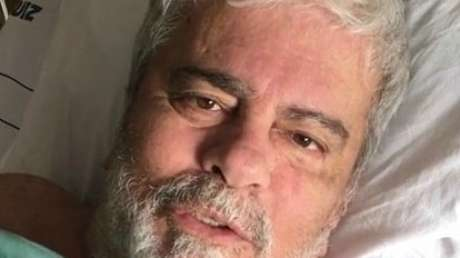 """Em agosto de 2018, Wagner Montes postou um #tbt: """"Junto com o amigo e eterno patrão Silvio Santos. Saudades!"""""""