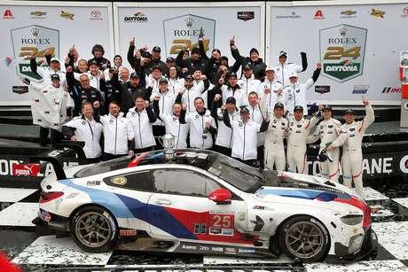 24h de Daytona: Pela BMW, time de Augusto Farfus vence a GT Le Mans
