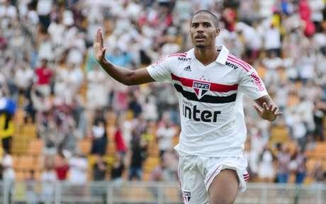 Gabriel Novaes marcou gol na final da Copinha - FOTO: Bruno Ulivieri/Ofotografico