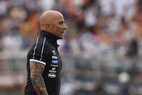 Técnico argentino vai dando sua cara ao time do Santos (Foto: Ivan Storti/Santos)
