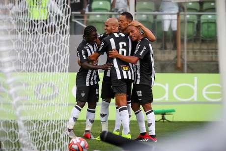 Galo fará duas partidas em casa pelo Mineiro e viaja para fazer sua estreia na Libertadores no fim de semana- Bruno Cantini/Atlético-MG