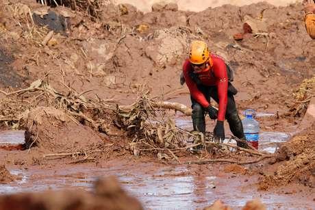 Rompimento da barragem da Mineradora Vale, Corrego do Feijão, região de Brumadinho MG, nesta segunda feira (28)