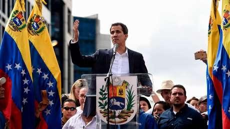 Juan Guaidó é o presidente da Assembleia Nacional, com maioria de oposição