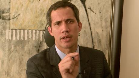 Guaidó conversou com a BBC Mundo logo depois de anunciadas as novas sanções do governo dos EUA contra a petroleira estatal PDVSA